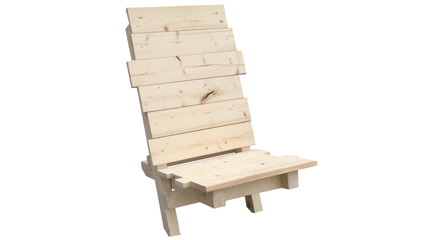 Stuhl Aus Paletten. Perfect Moderner Sessel Aus Mit With Stuhl Aus ...